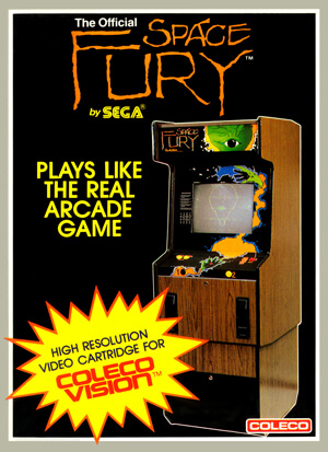 Space Fury for Colecovision Box Art