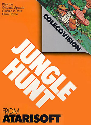Jungle Hunt for Colecovision Box Art