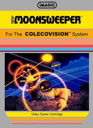 Moonsweeper for Colecovision Box Art