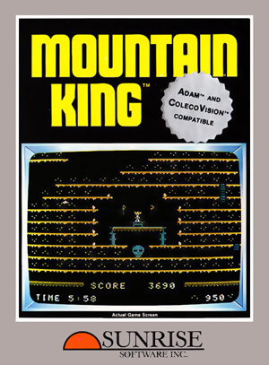 Mountain King for Colecovision Box Art