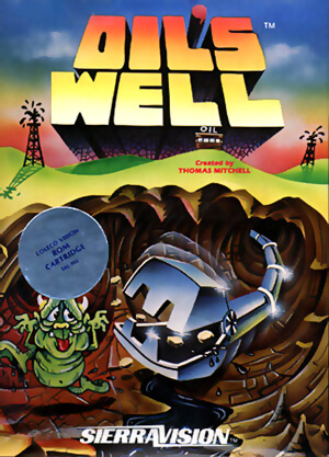 Oil's Well for Colecovision Box Art