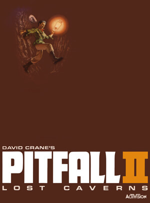 Pitfall II: Lost Caverns for Colecovision Box Art