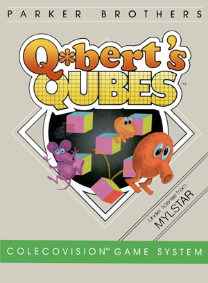 Q*bert's Qubes for Colecovision Box Art