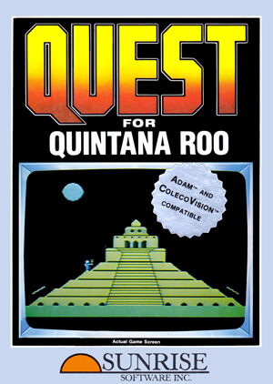 Quest for Quintana Roo for Colecovision Box Art