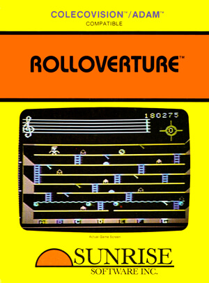 Rolloverture for Colecovision Box Art