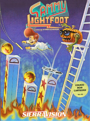 Sammy Lightfoot for Colecovision Box Art