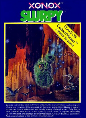 Slurpy for Colecovision Box Art