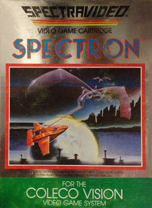 Spectron for Colecovision Box Art