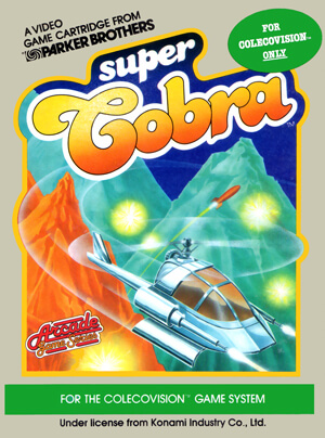 Super Cobra for Colecovision Box Art
