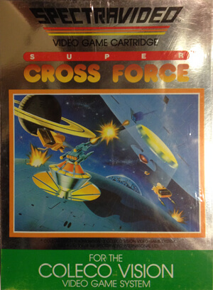 Super Cross Force for Colecovision Box Art
