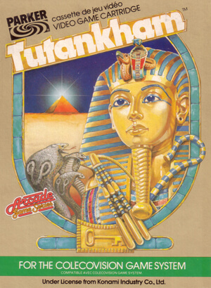 Tutankham for Colecovision Box Art