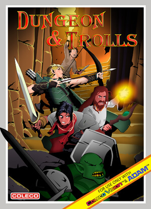 Dungeon & Trolls for Colecovision Box Art