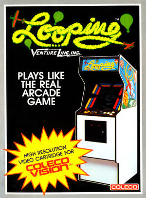 Looping for Colecovision Box Art