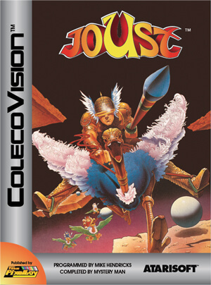 Joust for Colecovision Box Art
