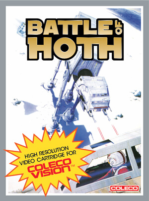 Battle of Hoth for Colecovision Box Art