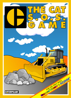 Caterpillar S.O.S. for Colecovision Box Art