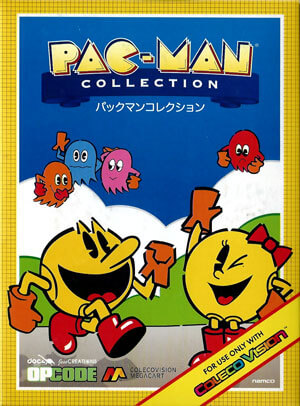 Pac-Man Collection for Colecovision Box Art