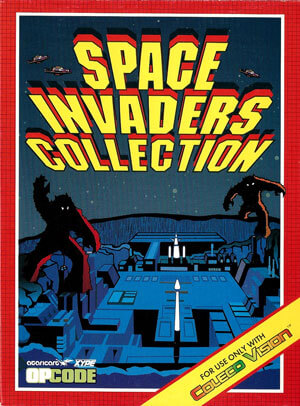 Space Invaders Collection for Colecovision Box Art