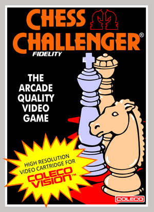 Chess Challenger for Colecovision Box Art
