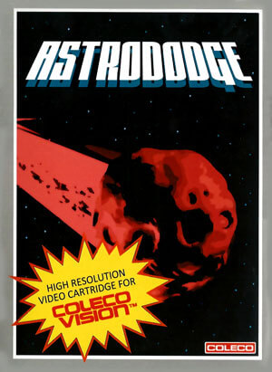 Astrododge for Colecovision Box Art