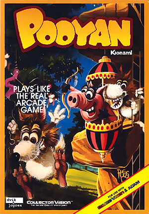 Pooyan for Colecovision Box Art