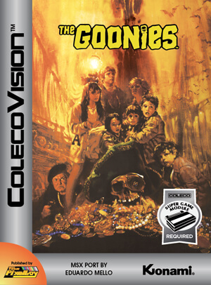 Goonies, The for Colecovision Box Art