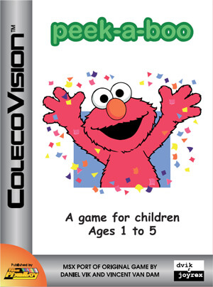 Peek-a-boo  for Colecovision Box Art