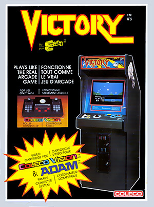 Victory for Colecovision Box Art