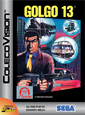 Golgo 13 for Colecovision Box Art