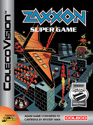 Zaxxon Super Game for Colecovision Box Art