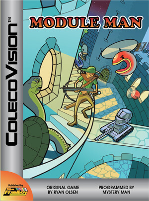 Module Man for Colecovision Box Art