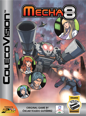Mecha-8 for Colecovision Box Art