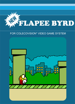 Flapee Byrd for Colecovision Box Art