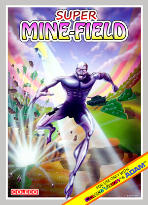 Super Minefield for Colecovision Box Art