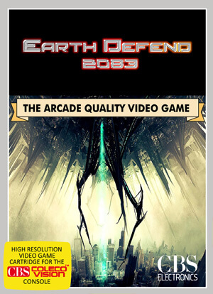 Earth Defend 2083 for Colecovision Box Art