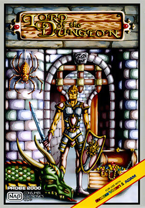 Lord of the Dungeon for Colecovision Box Art