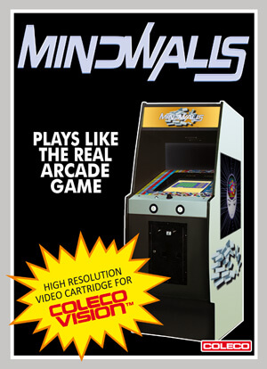 Mindwalls for Colecovision Box Art