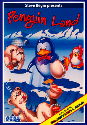 Penguin Land for Colecovision Box Art