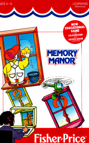 Memory Manor for Colecovision Box Art