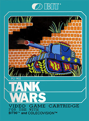 Tank Wars for Colecovision Box Art