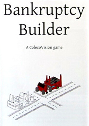 Bankruptcy Builder for Colecovision Box Art