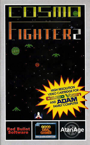 Cosmo Fighter 2 for Colecovision Box Art