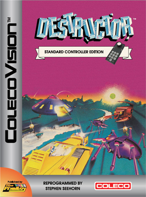 Destructor SCE (Standard Controller Edition)  for Colecovision Box Art