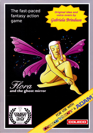 Flora and the Ghost Mirror for Colecovision Box Art