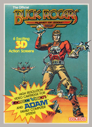 Buck Rogers: Planet of Zoom for Colecovision Box Art
