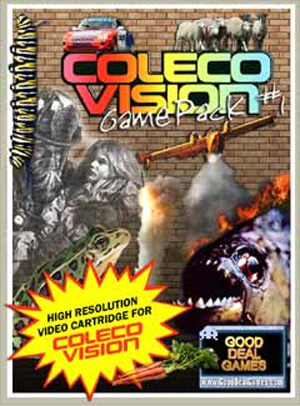 Game Pack #1 for Colecovision Box Art