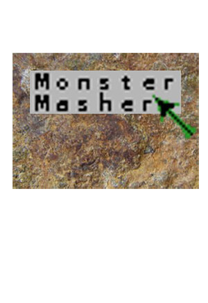 Monster Masher for Colecovision Box Art