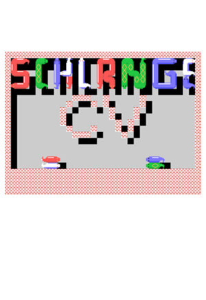 Schlange CV for Colecovision Box Art