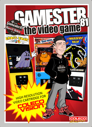 Gamester 81: The Video Game for Colecovision Box Art