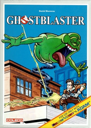 Ghostblaster for Colecovision Box Art